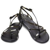 damskie sandały isabella gladiator czarny (36,5) marki Crocs