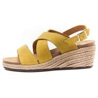 Scholl sandały damskie Sotiria 36 żółty (8034113788533)