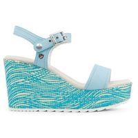 Sandały damskie U.S. POLO - FEDRA4097S8_Y2-89, kolor niebieski