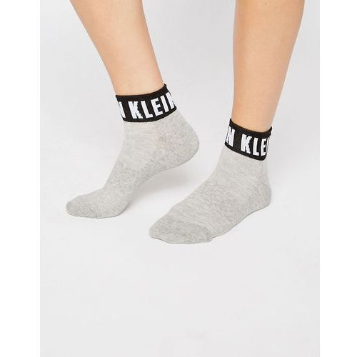 icon logo quarter socks - grey marki Calvin klein