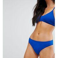 sporty low rise bikini bottoms - blue marki Monki