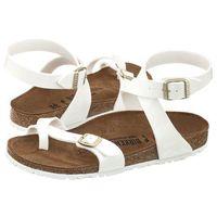 Sandały Birkenstock Yara Patent White 1005166 (BK48-b), kolor biały