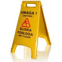 """Tablica ostrzegawcza """"Uwaga śliska podłoga"""""""