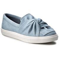 Półbuty STEVE MADDEN - Knotty Slip-on 91000357-0S0-10003-04001 Blue, kolor niebieski