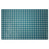 Podkładka na stół 44 x 28 5 cm kratka niebieska (5908262410573)