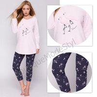 SENSIS piżama damska FLAMING soft, legginsy, 8709-6349E