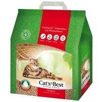 cat's best eco plus - żwirek dla kota drewniany zbrylający marki Jrs