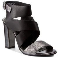 Sandały KARINO - 2127/115-P Czarny/Srebrny, w 2 rozmiarach