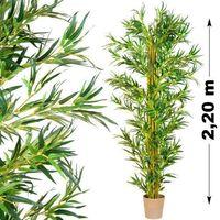 Makstor.pl Duze sztuczne drzewo kwiaty drzewko bambus 220 cm (40010036)