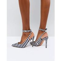 design pickle pointed high heels - multi marki Asos