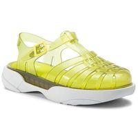 Sandały MELISSA - Possession Platform Ad 32508 Yellow/White 51766