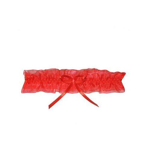 Podwiązka Enjoy Roxy Silikon Czerwona uniwersalny, czerwony, Enjoy, kolor czerwony