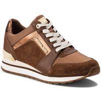 Michael michael kors Sneakersy - billie trainer 43f8bifs1s dk caramel