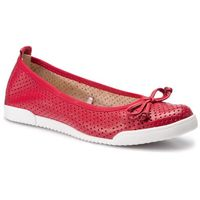 Baleriny LASOCKI - RST-COSMO-01 Red, kolor czerwony