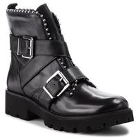 Botki - hoofy ankleboot sm11000118-03001-017 black leather, Steve madden, 36-41