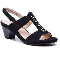 Sandały CAPRICE - 9-28311-22 Black Suede 004