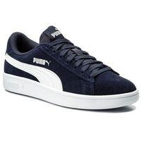 Sneakersy - smash v2 364989 04 peacoat/puma white marki Puma