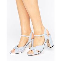 grace knot heeled sandals - blue, Miss kg