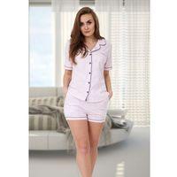 Piżama Damska Abigail 525 różowy/melanż