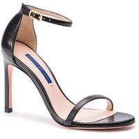 Sandały STUART WEITZMAN - Nudistsong ZL37417 Black Dress Nappa, w 4 rozmiarach