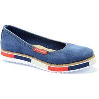 Baleriny Lanqier 40C208 jeans (10261668)