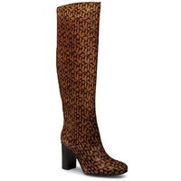 Kozaki TOMMY HILFIGER - Th Hair Calf High Heel Long Boot FW0FW05169 Oakmont AEZ, 36-41