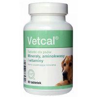 DOLFOS Vetcal preparat witaminowo-mineralny z wapniem muszli ostryg 90tabl.