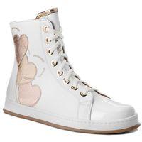 Sneakersy TWINSET - Sneaker CS8PJA Bianco Ottico 00001