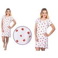 Italian fashion Koszula nocna halinka: czerwień