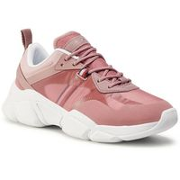 Sneakersy TOMMY HILFIGER - Technical Chunky Tommy Sneaker FW0FW04996 Misty Red XMY, 36-41