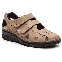 Sandały BERKEMANN - Larena 03100 Mattbraun 449, w 3 rozmiarach