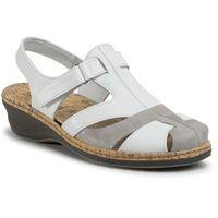 Sandały COMFORTABEL - 720138 Weiß/Stone 3