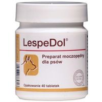 Dolfos Lespedol preparat moczopędny dla psów 40tabl.