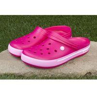 Klapki Crocs Crocband™ Clog Candy Pink 12836-6LR - Różowy