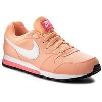 Buty NIKE - Md Runner 2 749869 801 Sunset Glow/White/Racer Pink, kolor pomarańczowy