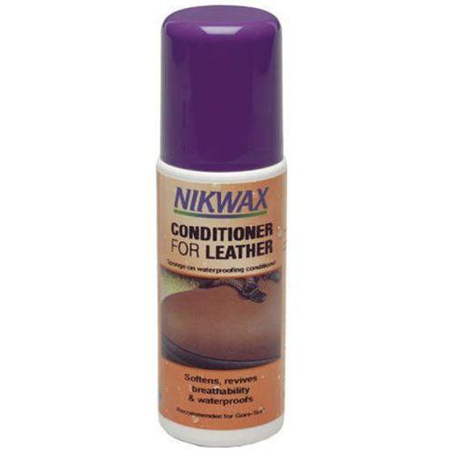 Odżywka do skóry conditioner for leather 125ml z gąbką bezbarwna marki Nikwax