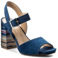 Sandały SOLO FEMME - 42303-01-D01/H32-07-00 Granat, kolor niebieski