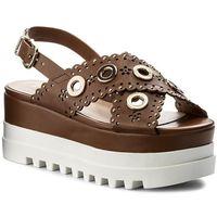 Sandały LIU JO - Platform Sandal S18065 E0332 Cuoio 81242, kolor brązowy