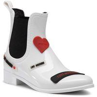 Kalosze LOVE MOSCHINO - JA21043G1BIR1100 Bianco, kolor biały
