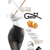 Gatta Rajstopy bye cellulite 20 den golden/odc.beżowego - golden/odc.beżowego