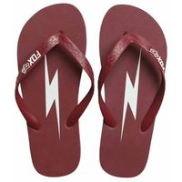 Japonki - throttle maniac flip flop dark red (208) marki Fox