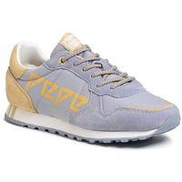 Sneakersy PEPE JEANS - Verona W Logo PLS30984 Azzurro 520, kolor niebieski
