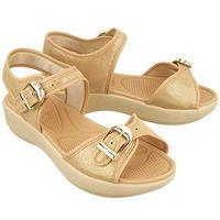 Azaleia 355 789 (80/81) point beige, sandały damskie