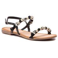 Sandały GIOSEPPO - 45326 Black, w 6 rozmiarach