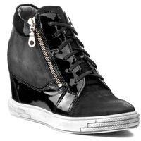 Sneakersy KARINO - 1176/090-P Czarny Lakier, kolor czarny