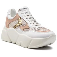 Sneakersy VOILE BLANCHE - Monster Mesh 0012013592.04.1N03 Bianco/Platino