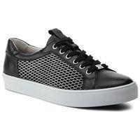 Caprice Sneakersy - 9-23652-22 black mesh 055