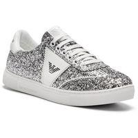 Sneakersy - x3x083 xl841 n799 silver/white/white marki Emporio armani