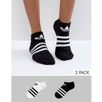 adidas Originals 3 Stripe 2 Pack Socks - Multi