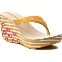 Japonki IPANEMA - Lipstick Thong III Fem 81569 White/Yellow/Beige 41075, w 2 rozmiarach